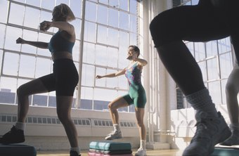 Cardio exercises such as step aerobics can lead to a slimmer face.