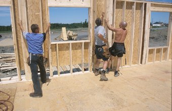 Carpenter's apprentices learn by helping journeymen.