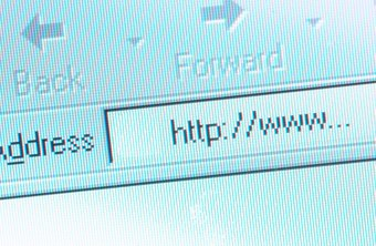 The URL for a Web page may include data values as part of a query string.