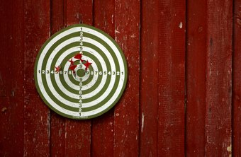 You'll miss targets from too far away, and the same goes for business objectives.
