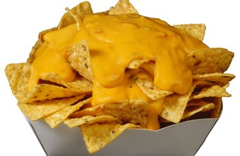 Nachos are the perfect take-and-go snack.