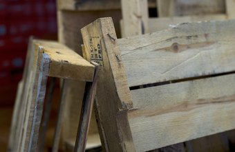 Used pallets can be turned into a variety of products to sell.