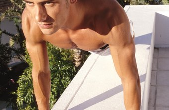 Push-ups strengthen your pectoral muscles.