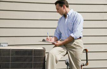 An HVAC technician must identify and repair problems.