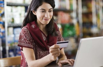 A PayPal online store accepts both credit and debit cards.