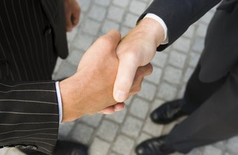 Extend a confident hand when you meet a new business contact.