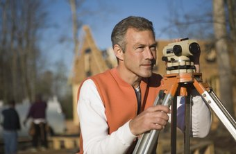 Shadowing a land surveyor is one way to evaluate his performance.