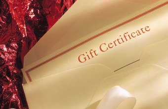 A gift certificate is a non-cash donation.