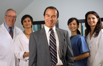 Administrators take leadership roles to provide patients with quality health care.