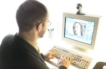You can have face-to-face meetings over the Internet with a webcam.