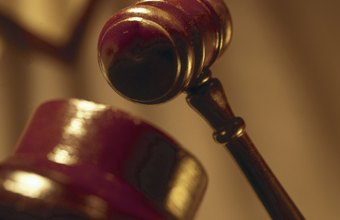 Magistrates preside over small-claims cases.