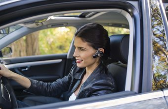 Install a Motorola wireless headset for hands-free cell phone use in the car