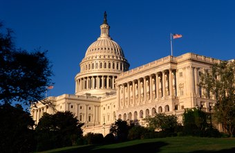 Federal legislators meet at the U.S. Capitol.