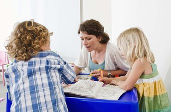 Assistants help support instruction of preschool teachers.