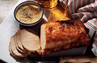 Roast your pork to avoid adding extra fat.