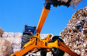OSHA requires trash recycling workers be adequately trained to operate heavy equipment.