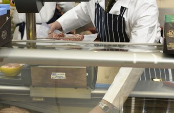 Top-paid supermarket butchers make over $45,000 per year.