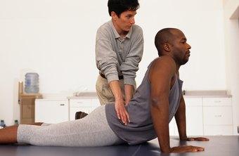 Physical therapists receive quite a workout assisting their patients.