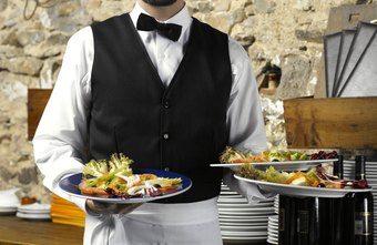 Waiters should be busy, but not too busy to be helpful and friendly.