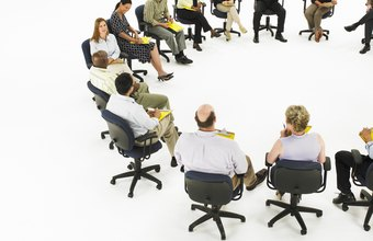 Round table meetings promote a sense of team.