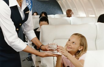 Although they sometimes assist child passengers, flight attendants aren't in the child care field.