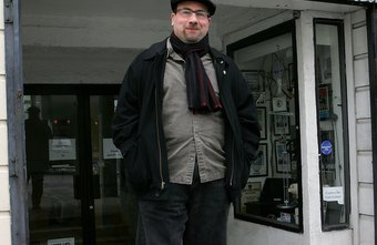 Craigslist founder Craig Newmark stands in front of the Craigslist office.