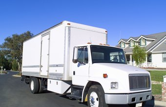 A moving van is tax-deductible for a moving company.