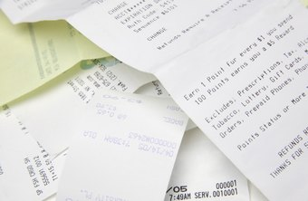 Receipt-management software also helps catalog your spending.