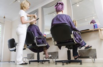 Cosmetology courses can last up to a year.