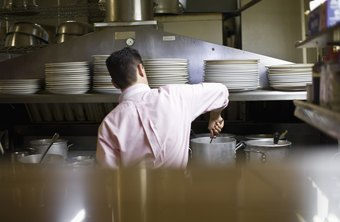 An efficent commercial kitchen requires careful planning.