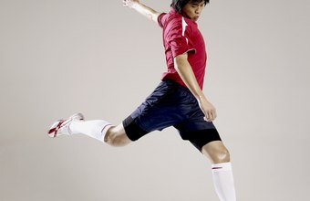 Build your strength training program for soccer around targeted leg exercises.