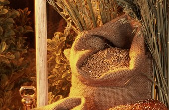 Commodities, such as wheat, are often traded through forward contracts as a hedge against price fluctuation.