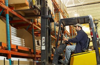 Forklift drivers work in a wide range of industries.