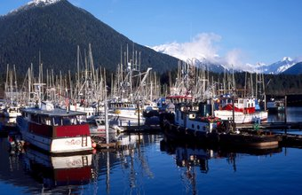 More than half of U.S. commercially caught fish comes from Alaska.