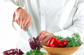Chopping vegetables and other ingredients is a common duty of prep cooks.