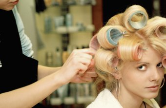 Beauticians might wash, cut and color their clients' hair.
