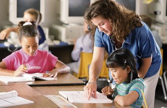 Teaching assistants often provide extra help to small groups or individual students.