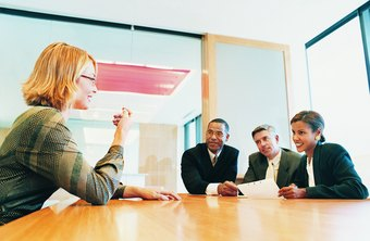 An interview may start with a simple group introduction or a facility tour.