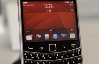 View your phone number on your BlackBerry's call log.