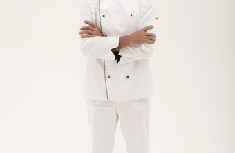 Chef uniforms are regulated by the state health department and the establishment.