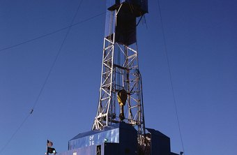 Oil well gaugers measure production.