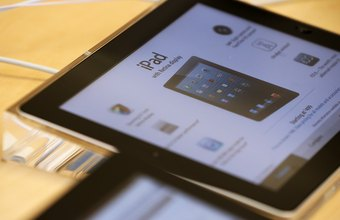 The iPad relies on a lithium-polymer battery for power.