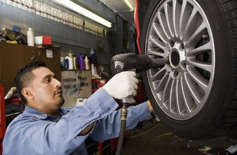 A tire change repairman earns more in East and West Coast states.