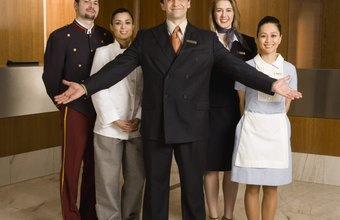 Delegating tasks to department managers is a helpful tool in the hotel business.