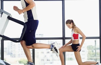 Walk or run uphill on the treadmill to target your glutes.