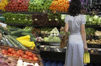 Buy fresh produce to motivate yourself to consume more fiber.