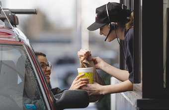 McDonald's customer service employees typically dress casually.