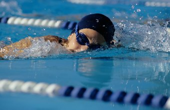 Keep your face above the surface to do the sidestroke.