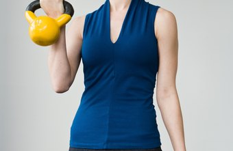 The handles on kettlebells make the weight off-center, unlike dumbbells.