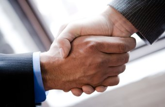 A strong handshake portrays confidence